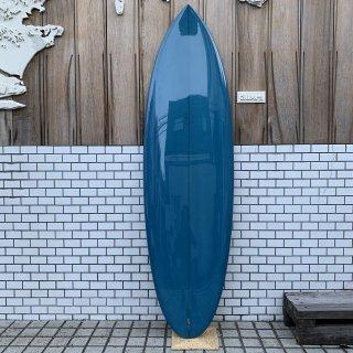 """MITSVEN SURFBOARDS ROUND TAIL QUAD 6'0"""" ミツベン サーフボード ラウンドテイル クアッド"""