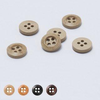 ウッド調ボタン   W-033 10〜25mm