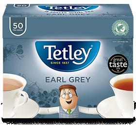 アールグレイ 50袋125g Tetley Earl Grey