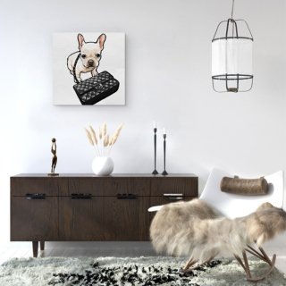 <img class='new_mark_img1' src='https://img.shop-pro.jp/img/new/icons16.gif' style='border:none;display:inline;margin:0px;padding:0px;width:auto;' />Classy Frenchie Black Bag