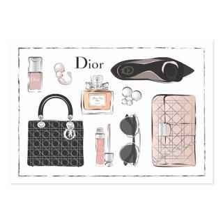 Dior Flatlay