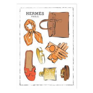 Hermes Flatlay