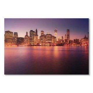 New York City Skyline - Night Lights