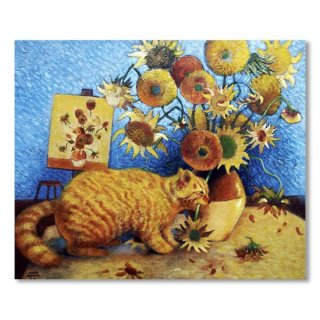 Van Gogh's Bad Cat