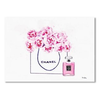 <img class='new_mark_img1' src='https://img.shop-pro.jp/img/new/icons16.gif' style='border:none;display:inline;margin:0px;padding:0px;width:auto;' />Chanel Bag With Pink Peonys