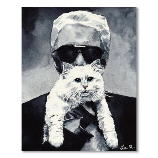 Choupette Cat And Karl Lagerfeld