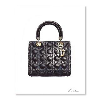 <img class='new_mark_img1' src='https://img.shop-pro.jp/img/new/icons16.gif' style='border:none;display:inline;margin:0px;padding:0px;width:auto;' />Lady Dior Black Handbag