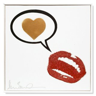 Saying Love - Silk Screen -