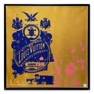 Golden Delight - Silk Screen -