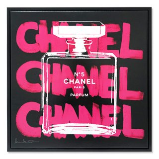 <img class='new_mark_img1' src='https://img.shop-pro.jp/img/new/icons16.gif' style='border:none;display:inline;margin:0px;padding:0px;width:auto;' />CHANEL CHANEL CHANEL Black フロートフレーム付 (ONLINE STORE限定)