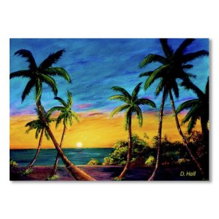 Ko'Olina Sunset on the West side of Oahu Hawaii #299