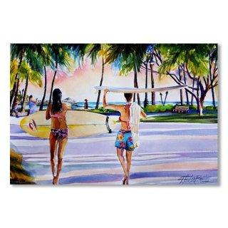 Waikiki Surfer Girls