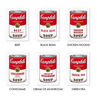 Soup Can - Set of 10