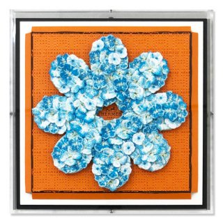 Hermes Flower Flower(Cerulean)