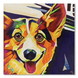 Pop Art Corgi