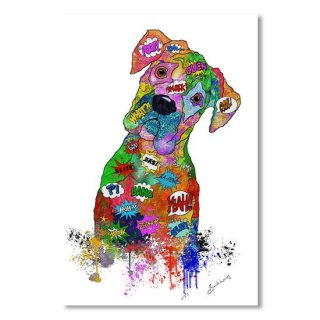 Doggy Pop Art -The head tilt. Need I say more?