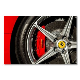 Ferrari Wheel Emblem -0496c