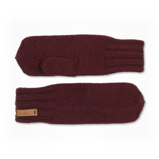 ニットグローブ Dinadi / KLARA MITTENS / WINE RED