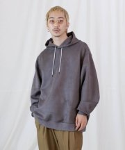 <img class='new_mark_img1' src='https://img.shop-pro.jp/img/new/icons1.gif' style='border:none;display:inline;margin:0px;padding:0px;width:auto;' />Iroquois_CARDBOARD_SUEDE HOODIE_CHA