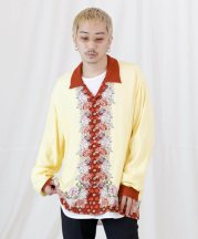 Iroquois_JAPANESE FLOWER L/S SH_YLW