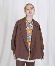 Iroquois_REFLAX WEATHER CLOTH WJK【セットアップ対応】_BRN