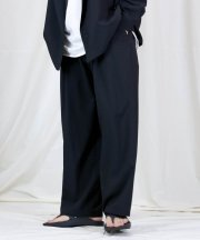 Iroquois_REFLAX WEATHER CLOTH WIDE PT_BLK