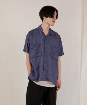 <img class='new_mark_img1' src='https://img.shop-pro.jp/img/new/icons1.gif' style='border:none;display:inline;margin:0px;padding:0px;width:auto;' />Iroquois_TE TWILL WIDE WESTERN H/S SH_BLU