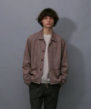 <img class='new_mark_img1' src='https://img.shop-pro.jp/img/new/icons1.gif' style='border:none;display:inline;margin:0px;padding:0px;width:auto;' />IroquoisIroquois_TECH KNIT SUEDE JK_SPK