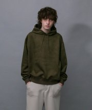 <img class='new_mark_img1' src='https://img.shop-pro.jp/img/new/icons1.gif' style='border:none;display:inline;margin:0px;padding:0px;width:auto;' />IroquoisIroquois_TECH KNIT SUEDE HOODIE_OLV