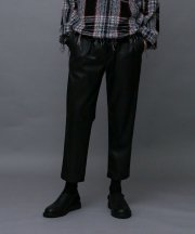 Iroquois_SYNTHETIC LEATHER TAPERED PT_BLK
