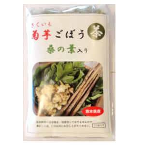 農薬・化学肥料不使用栽培 菊芋ごぼう茶プレミアム(桑の葉入り) 12包入