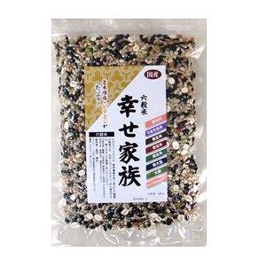 農薬・肥料不使用自然栽培 六穀米「幸せ家族」 200g