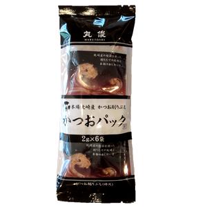 無添加 鹿児島県枕崎産 かつお削り節パック 2g×6袋