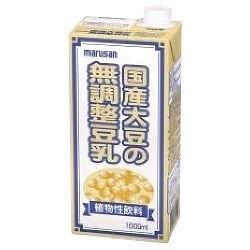マルサン 国産大豆の無調整豆乳 1,000ml
