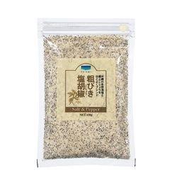 青い海 粗びき塩胡椒(詰替え用袋タイプ) 150g