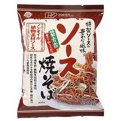 創健社 ソース焼そば 111.3g(麺 90g 添付調味料 21.3g)