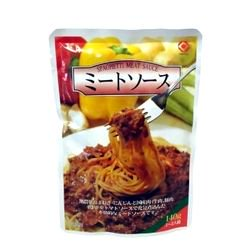 【お買い得】日本食品工業 ミートソース(1〜2人前) 140g