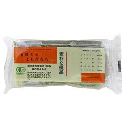 コジマフーズ 有機玄米よもぎ餅 300g(6切れ入り)