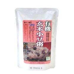 コジマフーズ 有機玄米小豆粥 200g