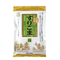 【お買い得】九鬼二度焙煎すりごま・白 85g