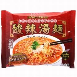 創健社 酸辣湯麺 (サンラータンメン) 111g(めん80g)