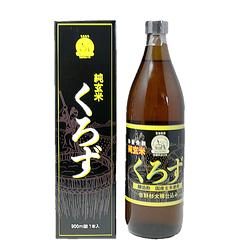 【お買い得】ミヅホ 純玄米くろず(静置発酵・吉野杉大樽仕込み) 900mL