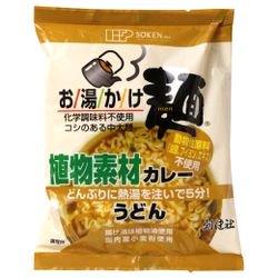 お湯かけ麺 植物素材カレーうどん 81g(麺 60g、スープ 21g)