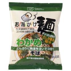 お湯かけ麺 わかめそば 72.5g(麺 60g、スープ 12.5g)