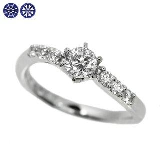 ダイヤモンド リング 0.3ct Pt900 ハートアンドキューピット D SI2 EX 鑑定書付 保証書付 婚約 エンゲージ 結婚 H&C 人気 結婚10周年 H&C専用スコープ付