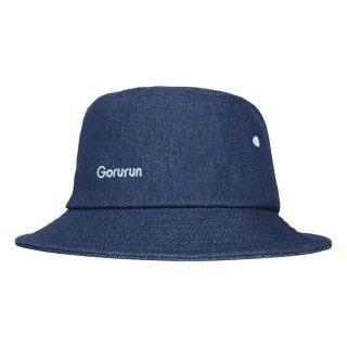 OG ロゴ バケットハット / デニム × ホワイト