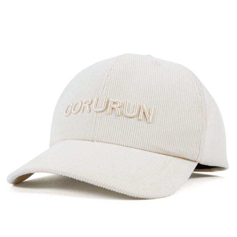 Gorurun  コーデュロイキャップ / オフホワイト