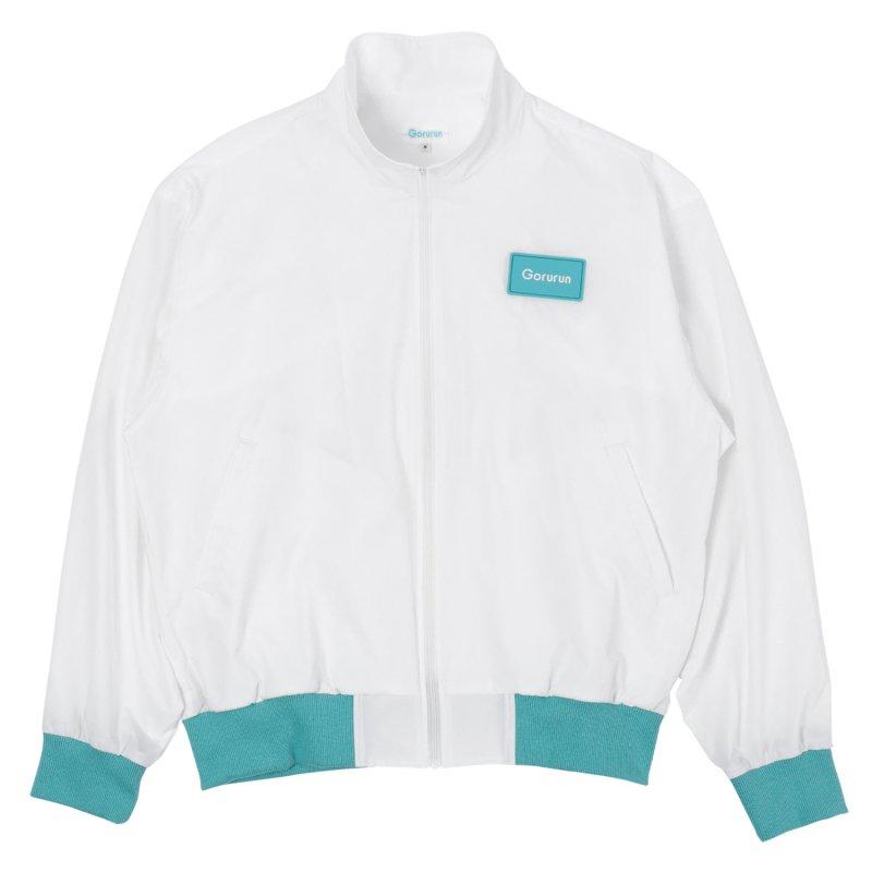 Gorurun ファティリラックス スタンドジャケット / ホワイト