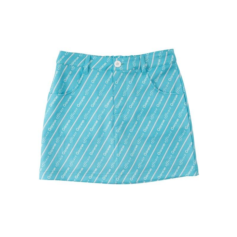 【レディース】Gorurun x efficace ブルーデライト スカート / ごるらんブルー