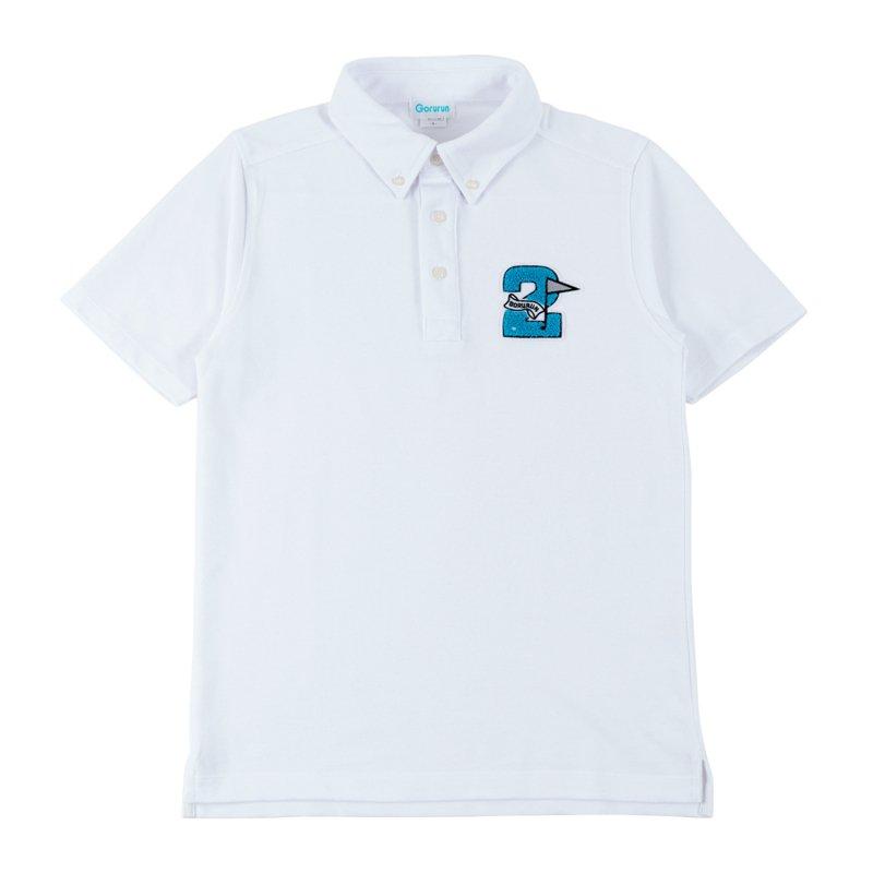 Gorurun セカンドフラッグポロシャツ / ホワイト